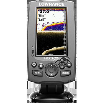 Lowrance® HOOK-4x è un fishfinder