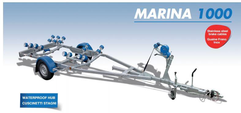 marina 1000 Rimorchi - Trasporto imbarcazioni
