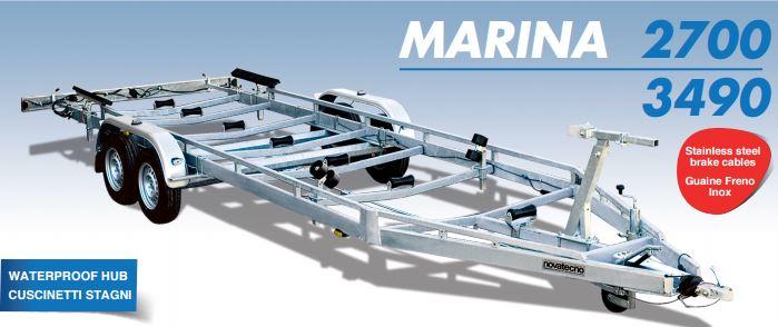 rm2 pb 2700-3490 rimorchi per trasporti nautici