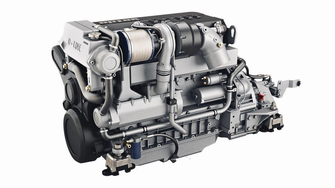 DEUTZ COMMON-RAIL ENGINE 125 KW, 170 HP, 4 STROKE 6 CYL. IN LINE, TURBO-CHARGED, AFTERCOOLED, EMR3